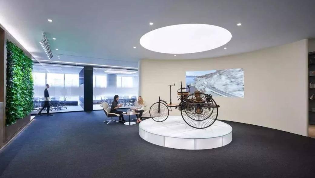 走进戴姆勒:一场关于办公空间的「变革」正在发生