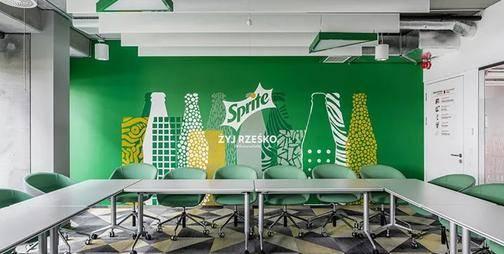 元素创新,可口可乐HBC波兰华沙总部设计欣赏丨空间设计站